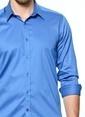Karaca Klasik Gömlek İndigo